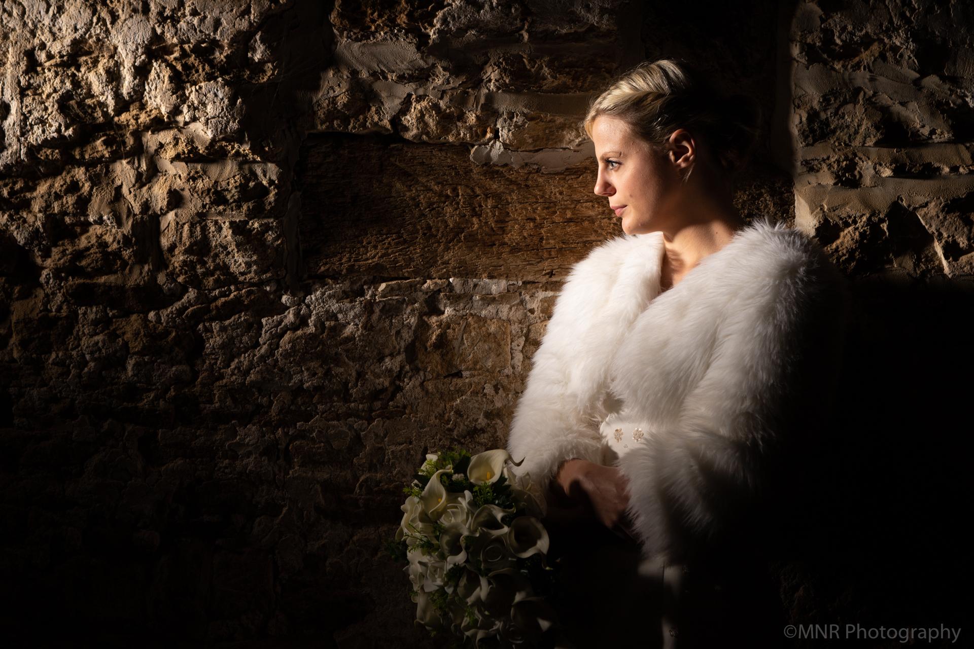 Bride in the dark